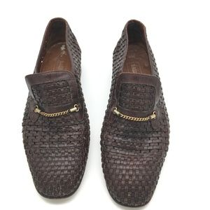Bally Suisse Brown Vintage Men's Loafer Size 9US